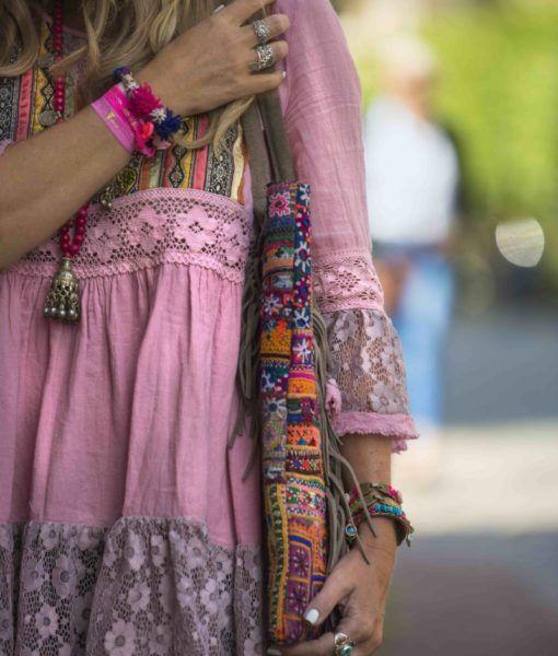 7a33e2a4c Vestido Romantic Fall rosa in 2019 | My Style | Ropa hippie, Blusa ...