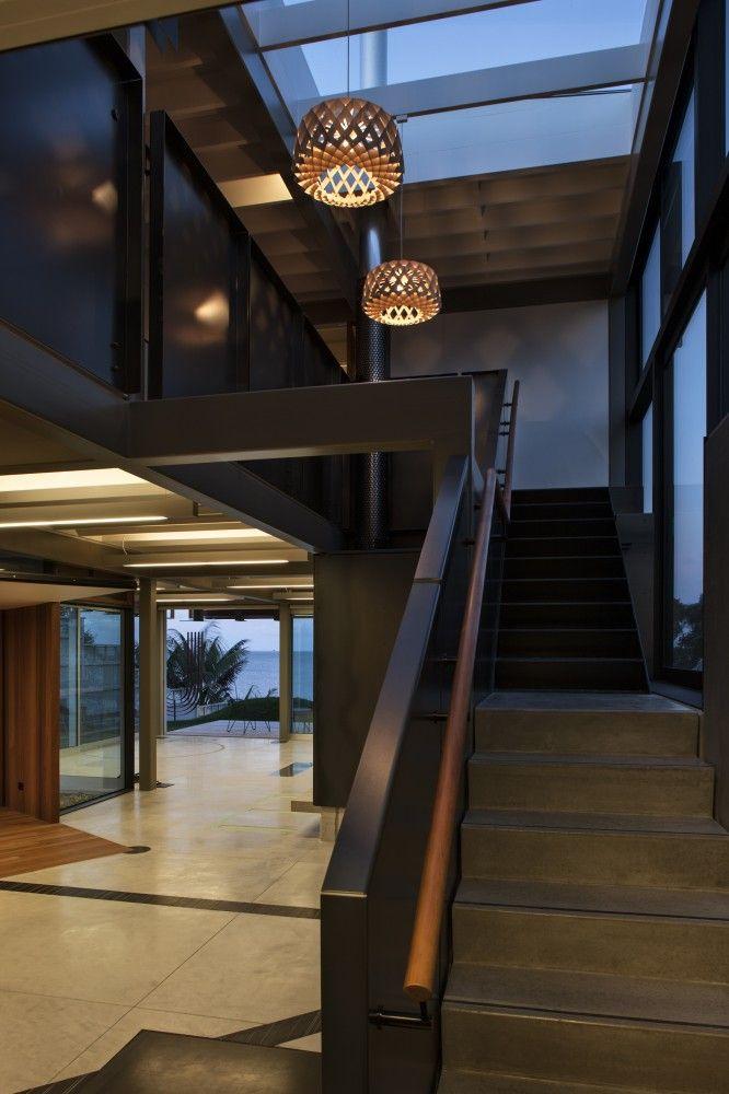 Takapuna House by Athfield Architects / Takapuna Beach, New Zealand