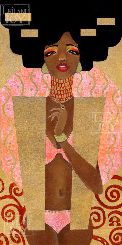Hey, I found this really awesome Etsy listing at https://www.etsy.com/listing/191918202/klimts-judith-by-leilani-joy-8x16-fine