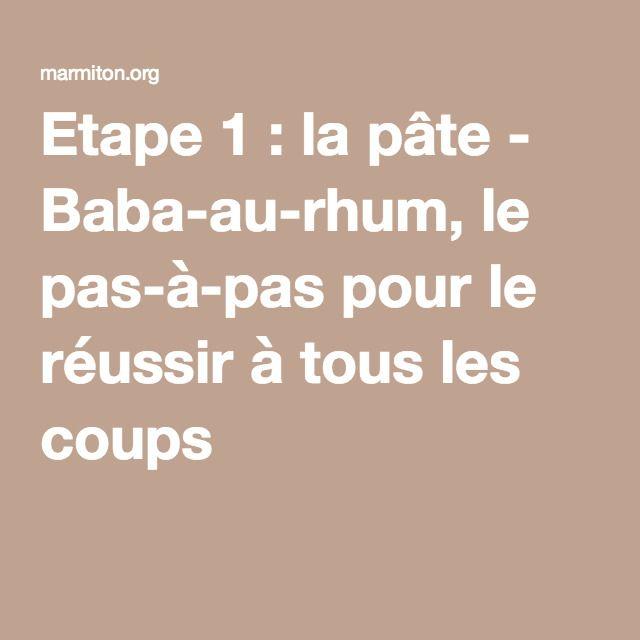 Etape 1 : la pâte - Baba-au-rhum, le pas-à-pas pour le réussir à tous les coups