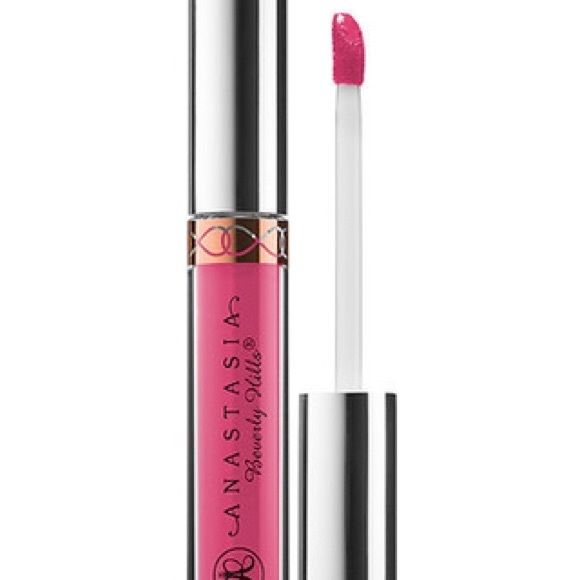 Authentic Anastasia Liquid Lipstick - Party Pink Authentic Anastasia Beverly Hills Liquid Lipstick in Party Pink. This ultra-saturated liquid formula delivers an intense shot of matte pigment in one easy swipe. A single application gives you smear-resistant coverage that stays put for hours! 35% off but you can save even more by bundling :) offers are also welcomed! Anastasia Beverly Hills Makeup Lipstick
