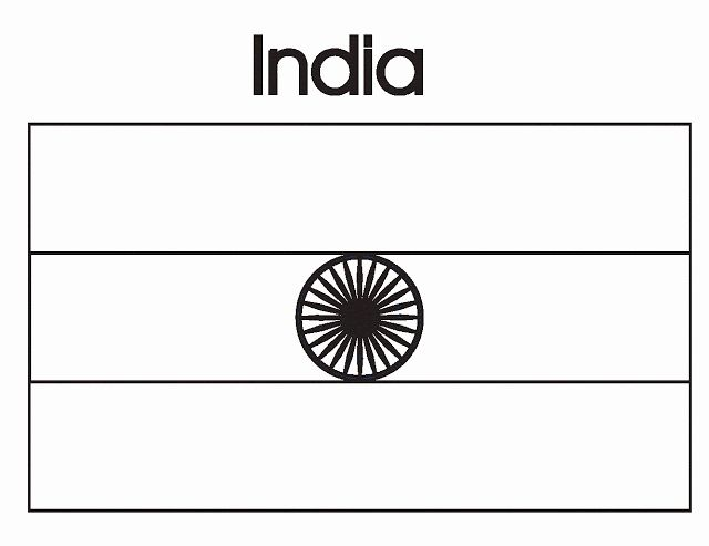India Flag Coloring Page Best Of Geography Blog India Flag