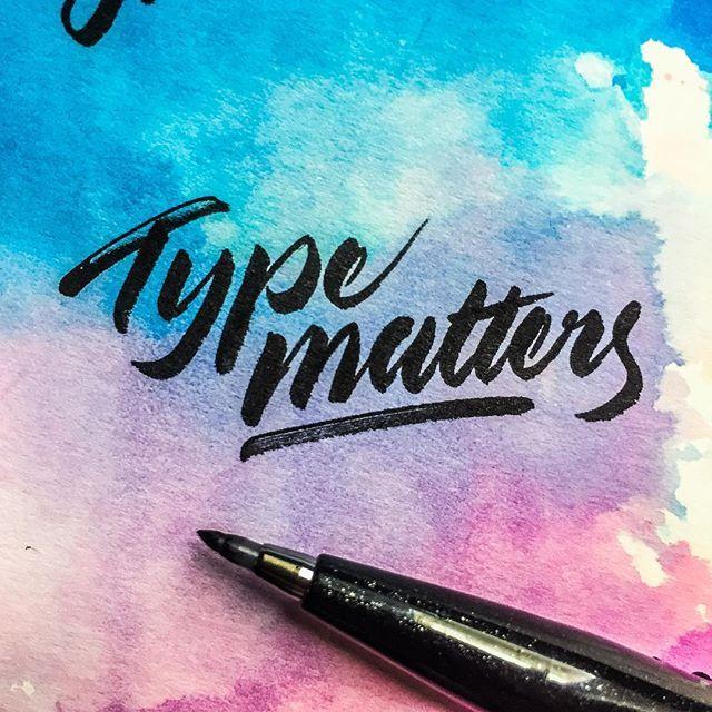 Type matters 🖋 - - - #typespire #lettering #calligraphy #handlettering #typetopia #artoftype #ligaturecollective #strengthinletters #letteringco #customtype #typematters #thedailytype #inspiration #design #TYxCA #typeverything #goodtype #typegang #calligritype #brushcalligraphy #moderncalligraphy #handmadefont #handstyle #calligraphymasters #typespot #greattype #typographyinspired #designspiration #brushlettering #goodtypetuesday  @handmadefont