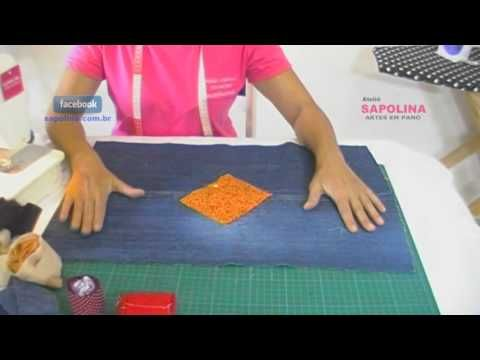 Fazendo tapete com retalhos parte 1