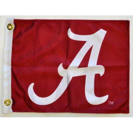 Flagpole To Go 14 inch x 15 inch Auburn Tigers Golf Cart Flag, Blue