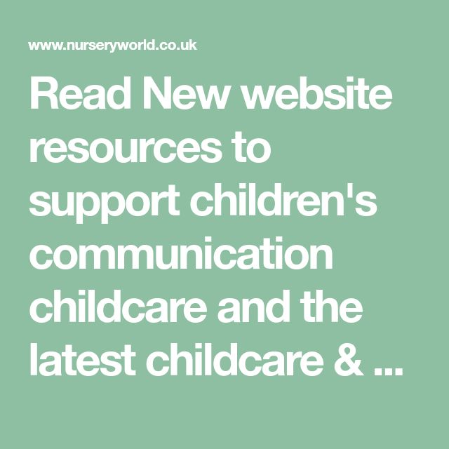 communication in childcare Contact the childcarecouk customer support team we aim to answer all customer support if you are a childcare provider seeking a job in childcare as a babysitter, childminder, nanny, nursery.