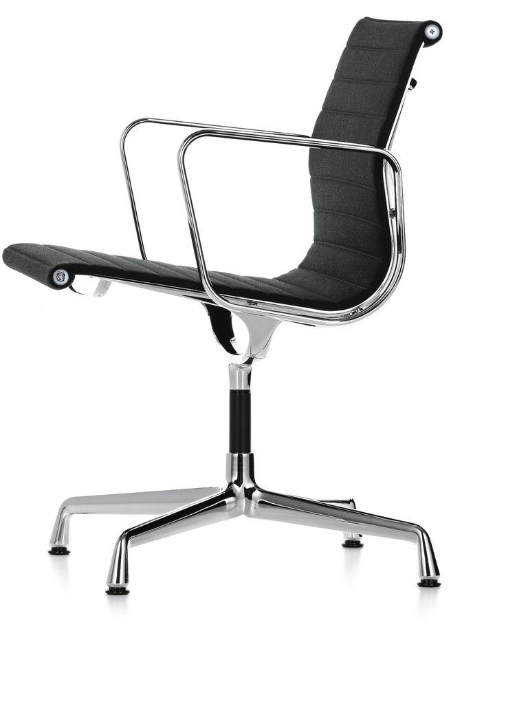Aluminium Chair - EA 108 - Hopsak - 98 rot/champagner