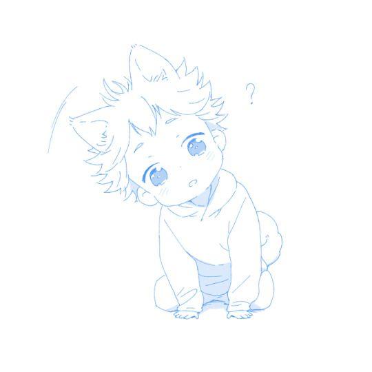 Baby puppy Hinata?!! <333