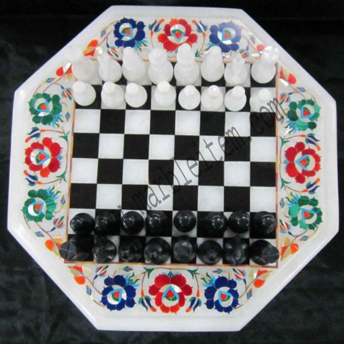marble chess board inlay design gift shop agra india marble gift home decor  http://www.marbleitem.com/india/marble-gift-items/   #marble #chess #board #inlay #design #gift #shop #agra #india #marblegift #home #decor www.marbleitem.com