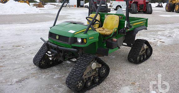 John Deere utility vehicle.