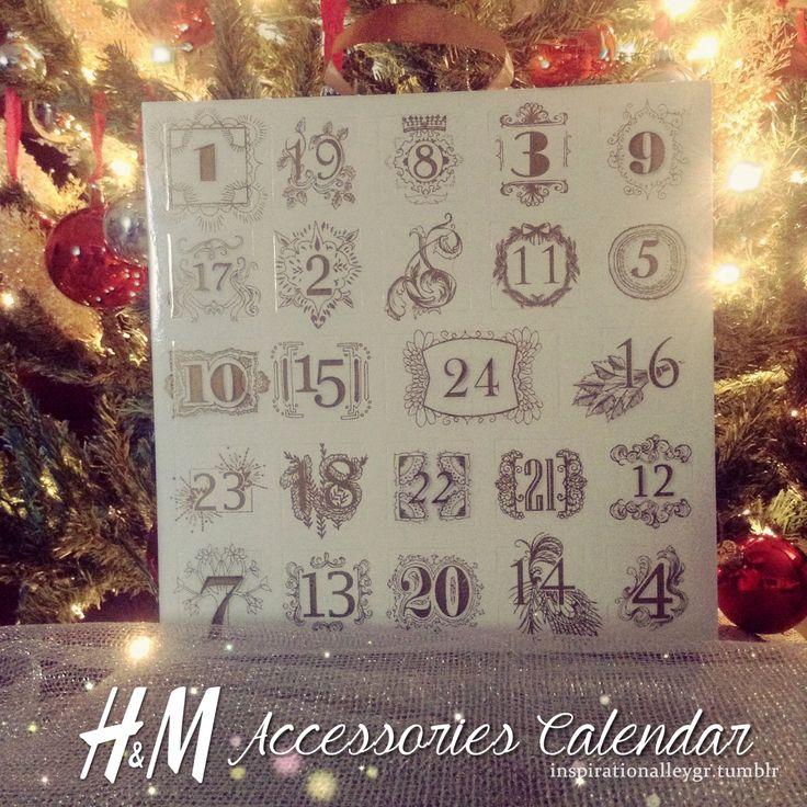 H&M Accessories Calendar #AdventCalendarΜια αδυναμία στα advent calendars την έχω, πόσο μάλλον, όταν κάθε πορτούλα κρύβει πίσω της κοσμηματάκια γιορτινά που σου φτιάχνουν την διάθεση. Βρήκα σε μια...