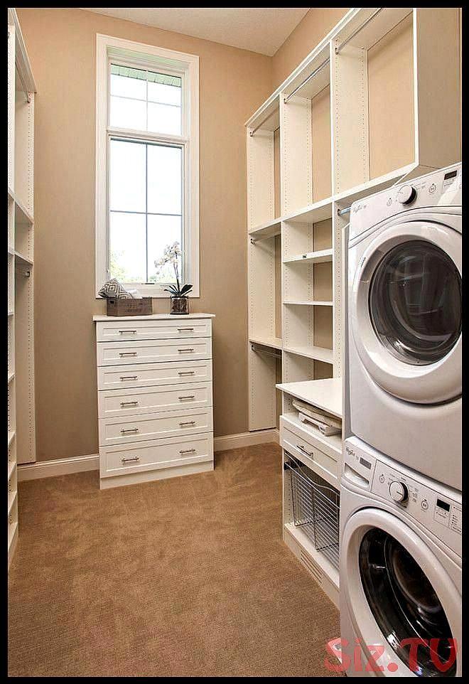 Receive Wonderful Ideas Onlaundry Room Stackable Washer And Dryer They Are Available For You On Our Internet Begehbarer Kleiderschrank Schrankentwurf Waschraum