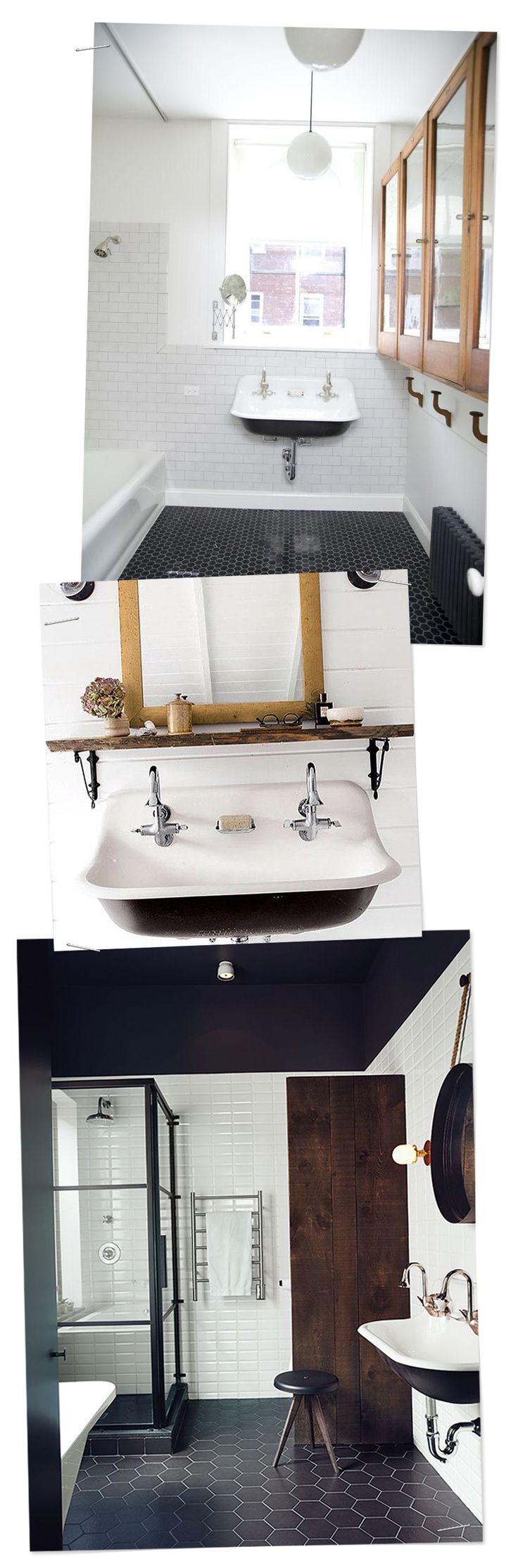 The tile shop design by kirsty georgian bathroom style - Inspirational Bathrooms Brockway Sink For A Bit Of Vintage