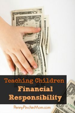 We all know to talk to our kids about strangers, drugs, alcohol and more.  Do you know that you need to also teach them financial responsibility as well?  It is JUST as important and a life skill they can't live without.