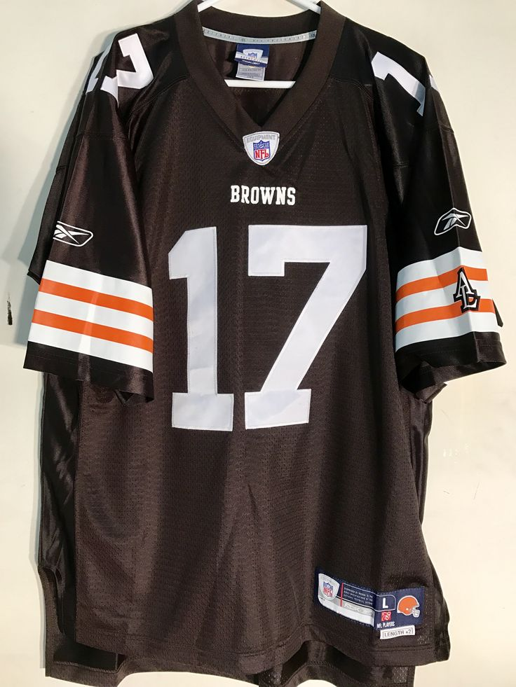 Brian Sipe Jersey | Reebok Premier NFL Jersey Cleveland Browns Brian Sipe ...