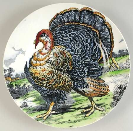 WR MidwinterTurkey-Brown-Multicolor at Replacements, Ltd