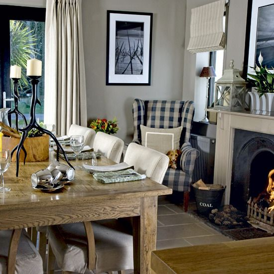 from Modern Country Style blog: Modern Country Dining Heaven