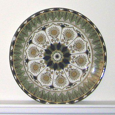 Royal doulton cyprus porcelain plate d1268 a table pinterest - Plaques decoratives murales ...