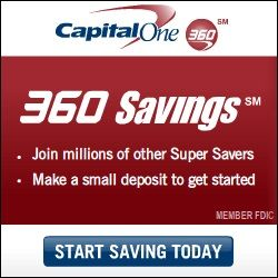 capital one 360 online savings accounts