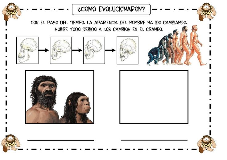 LEARNING IS FUN!: FICHAS SOBRE LA PREHISTORIA