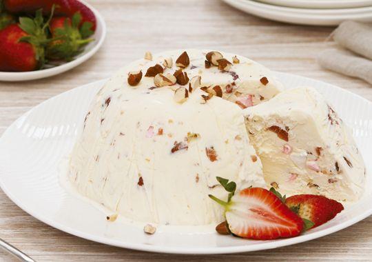 Rocky Road Ice Cream Bombe - how good does it look?!