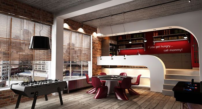 Urban Loft Interior Design By George Papos Arte