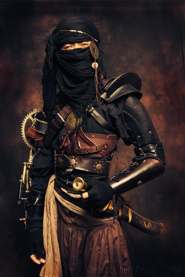 Steampunk Tendencies | Ninja ~ out of the Age of Steam ~ Christopher Mark Perez -