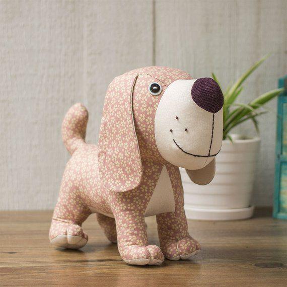 Stuffed Animal Patterns Dog Etsy Doggies Puppys Baby Get