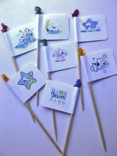 Peanuts BABY SNOOPY Package 30 Party Picks - Cake Decor - Baby Shower, Birthday Party Baby Snoopy,http://www.amazon.com/dp/B00FFJ0YSE/ref=cm_sw_r_pi_dp_EM6ytb08C044X1A8