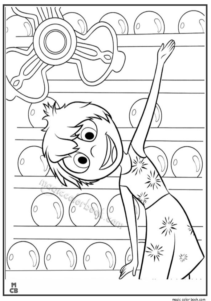 27 best Inside Out Coloring pages free images on Pinterest