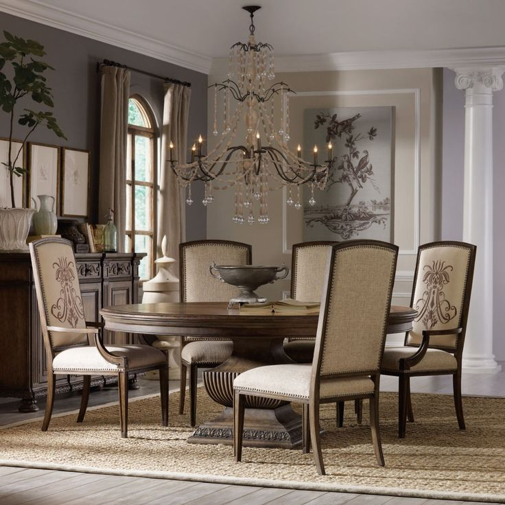 Shop For Hooker Furniture Rhapsody Round Dining Table And Other Room Tables