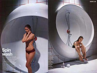 K.W: Bathtub + Shower by Ron Arad