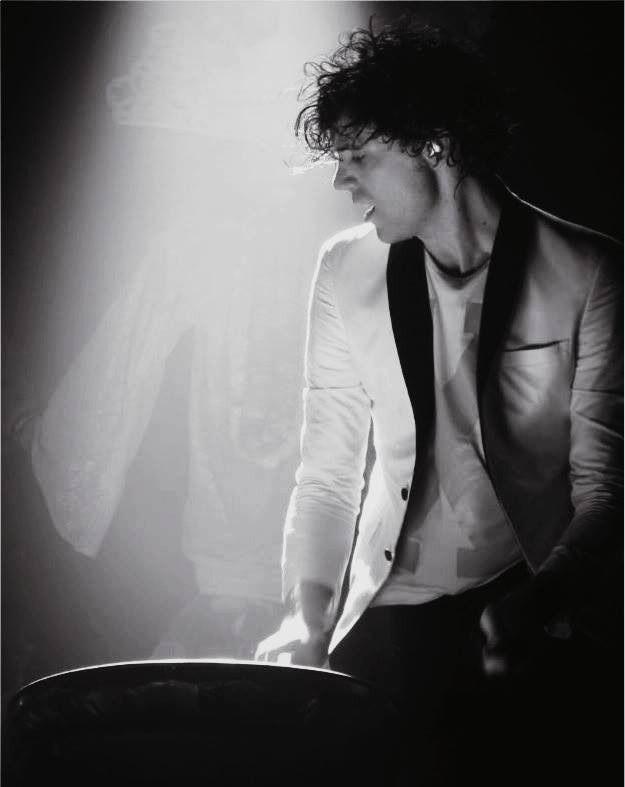Mika drumming - neck! - unknown gig