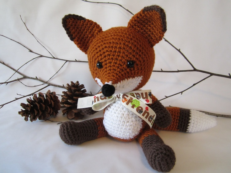 16 best images about Amigurumi Fox on Pinterest ...