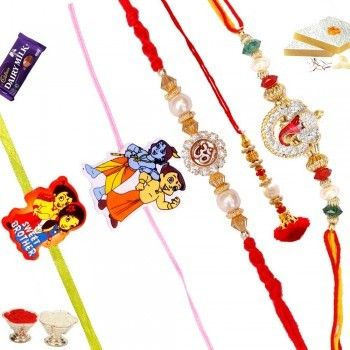 Lessen this big distance between you and your brother by sending Rakhi or Rakhi thali online, Gifts, chocolates and Sweets in order to celebrate this occasion together.