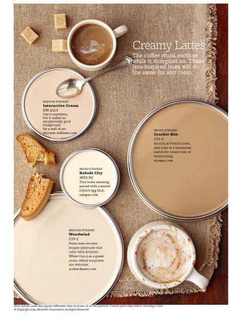 Creamy lattes