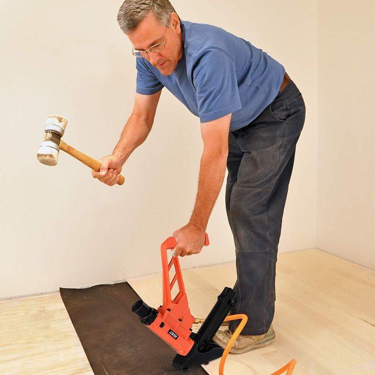 Goplus 2in1 Pneumatic Flooring Nailer And Stapler 16gauge Cleat