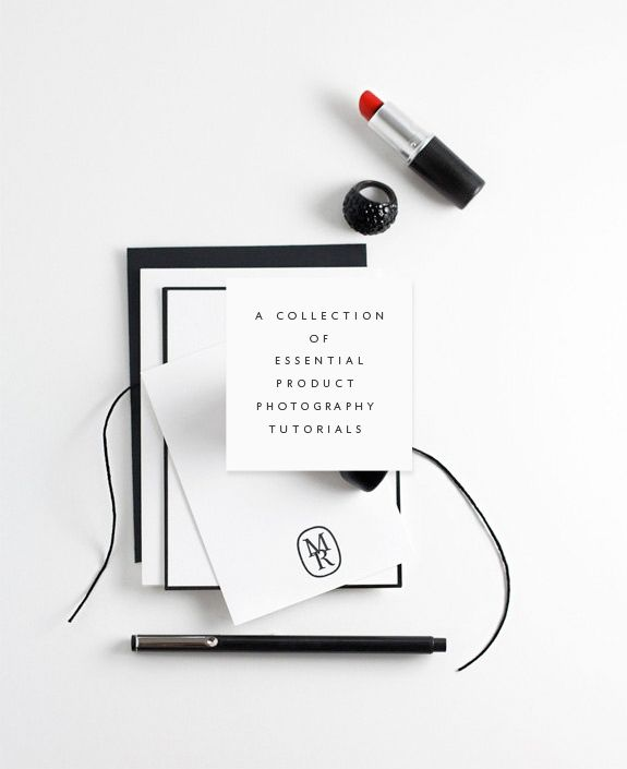 A mega collection of product photography tutorials to get you started on your road to awesome product shots!