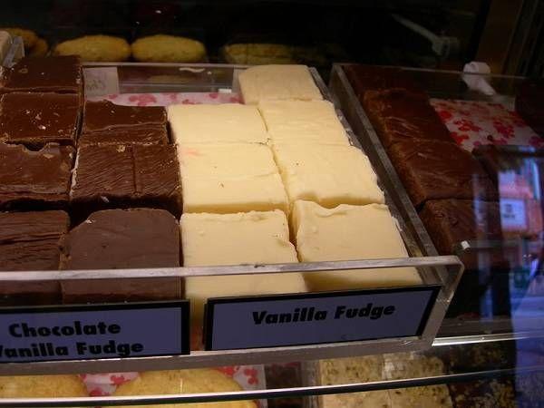 Vanilla Fudge Recipe from Main Street Bakery in Disney World