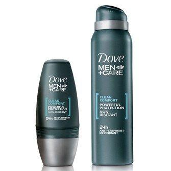 Dove Men+Care Antiperspirant Deodorant Clean Comfort