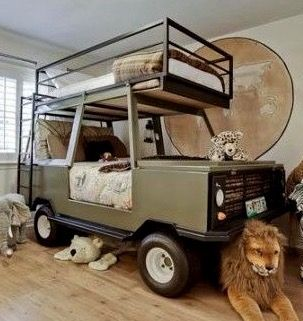 Jeep bunk bed