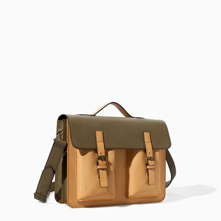 29 Best Images About Mens Bag On Pinterest Zara Man