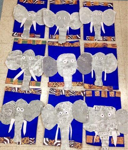 Art with Mr. Giannetto: Kindergarten: Elephants
