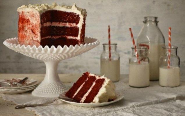 Red Velvet κέικ - iCookGreek