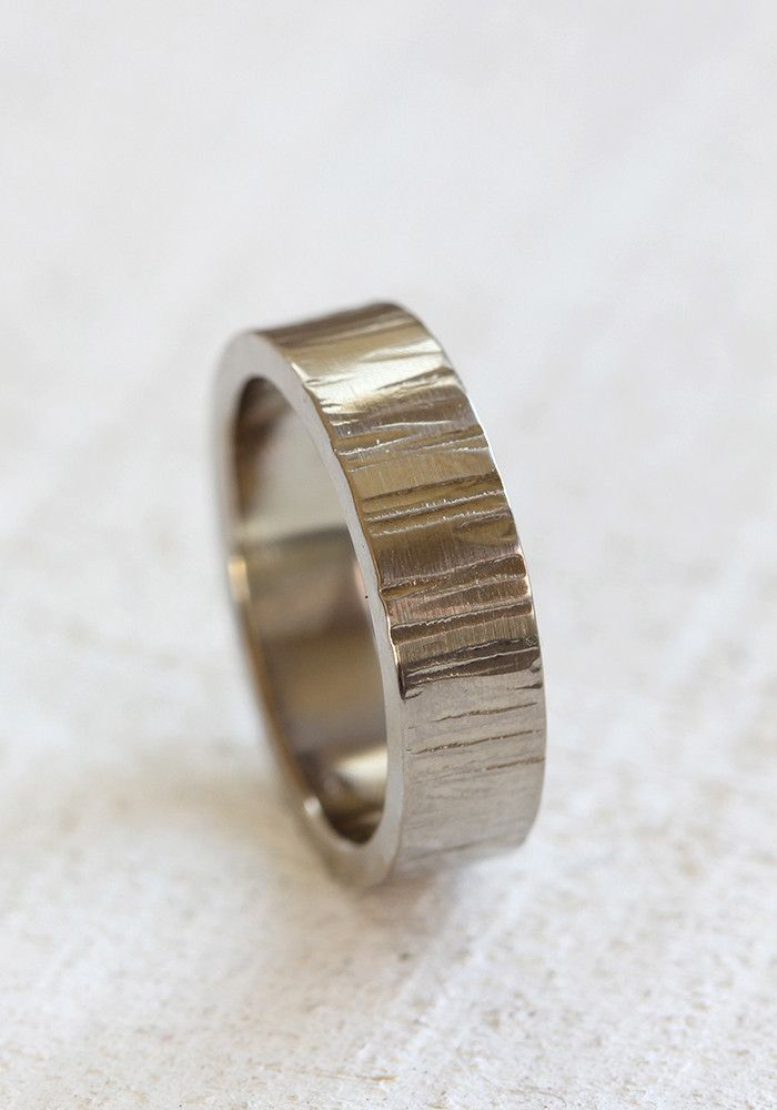Wedding Ring Bands >> Gold Tree Bark Ring - praxis jewelry | bridal | Pinterest | Tree bark, Barking F.C. and Ring