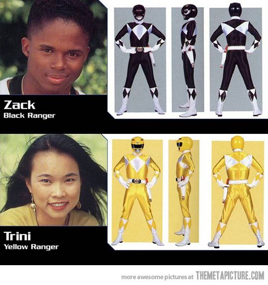 I can totally go into more racism in this show than just the black dude and the Asian chick.