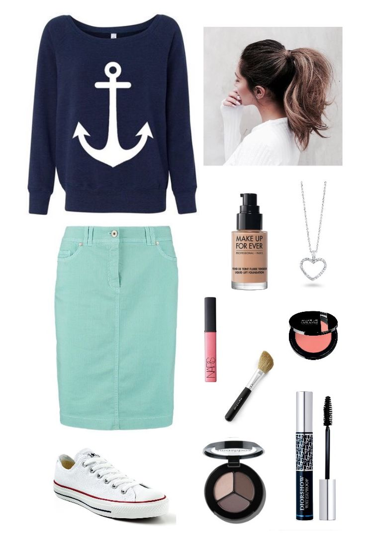 Casual Modest fashion - Casual outfit - modest outfit- Cute Outfit - Modest is hottest - Modest teal - modest anchor outfit