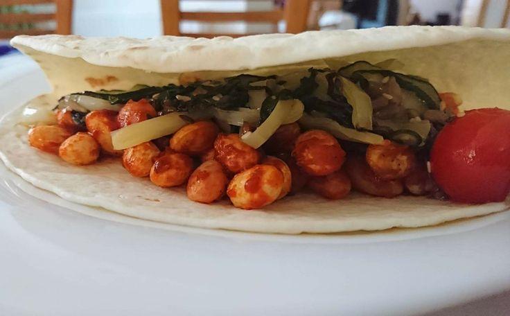 Cukkinis-babos tortilla  Recept a blogon.