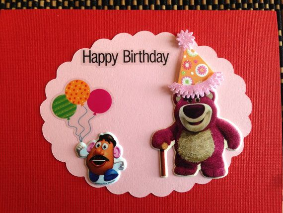 17 best Lotso images – Mr Potato Head Birthday Card