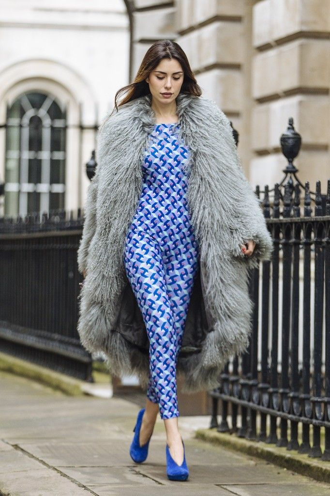 » Lise Grendene Looking Gorgeous On The First Day Of London Fashion Week